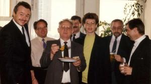 1990 Firmenjubiläum im techn. Bereich