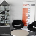2011-DataBurg Empfang Vitrine