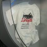 """AVAYA-Shirt aus dem Museum """"Haus der deutschen Geschichte"""" in Bonn"""