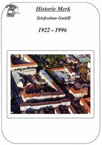 Merk-Historie 1922-1996 von Karl Zellner
